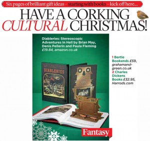 """DIABLERIES"" IN MAIL ON SUNDAY CHRISTMAS ROUND-UP"