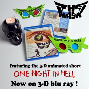 3-D blu ray of THE MASK