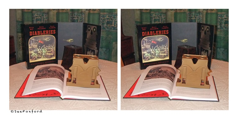 And a Diableries set which has hooked up with a classic Victorian viewer. (Photo: Sue Foxford)